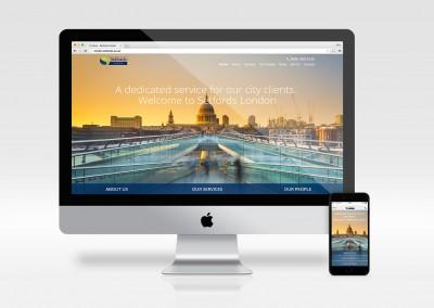 Setfords London homepage