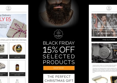 Hair & Whiskers - email marketing