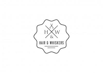 Hair & Whiskers logo