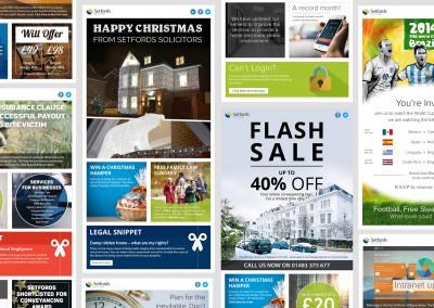 Setfords email marketing