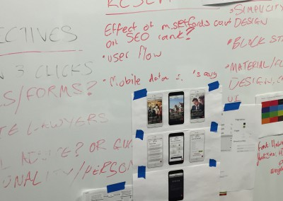 Mobile website research