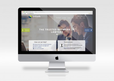 Setfords homepage